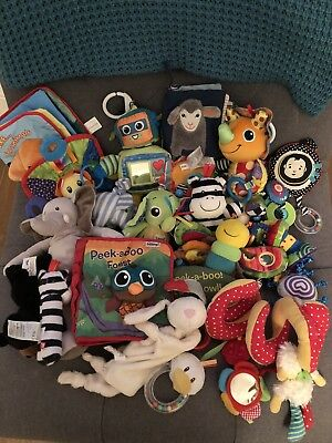 Bundle Of Baby Toys 0-12m including Lamaze And Manhattan Toy Co