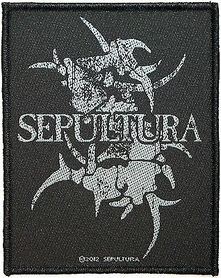 Sepultura - Band Logo - Woven Patch - Brand New - Music 2674