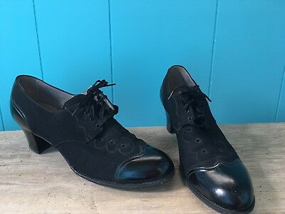 Vintage 1940s Nurse Shoes Bernard's Health Shoes 9AA
