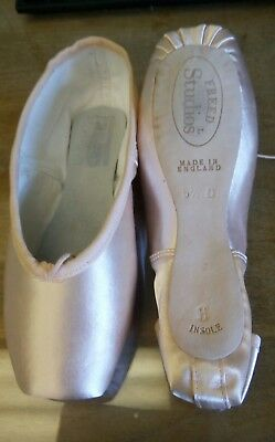 Freed Studio Pointe Shoes Wing Block UK 5.5 H Insole New Unused Free Shipping