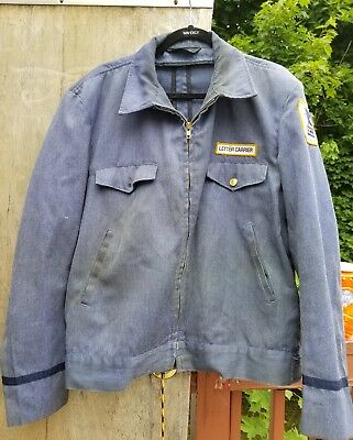 Vintage USPS Letter Carrier Jacket US Mail Carrier Brookfield Uniform Company