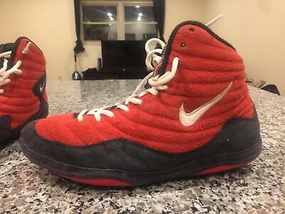 meet 10769 913f1 Nike OG inflicts Rare Wrestling Shoes. Red Size 9
