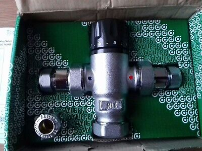 Calleffi 521115 15mm Failsafe Thermostatic Mixing valve. Check valve's Filters