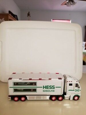 HESS~ 2003 Toy Truck and Race Cars ~   ORIGINAL BOX