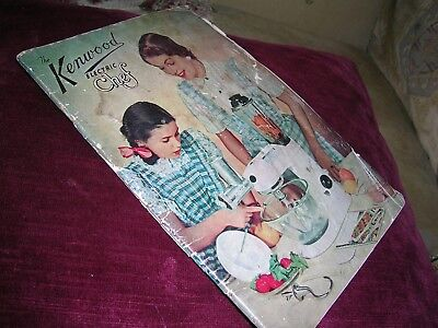 Rare Kenwood Electric Chef Brochure