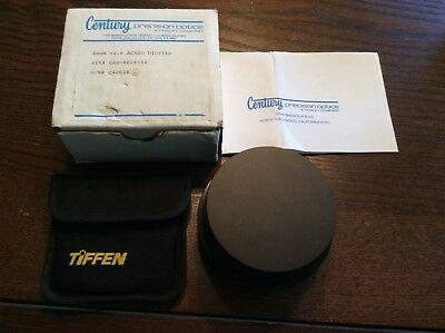 Century 86mm Achromatic Diopter 2.6 C40028 & FA-8586 New Open Box