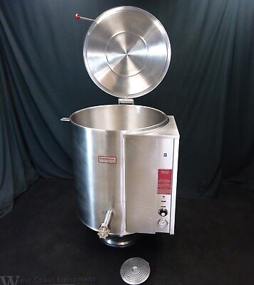 Southbend Electric 60 Gallon Steam Jacketed Kettle W/ Lid & Draw Valve Keps-60