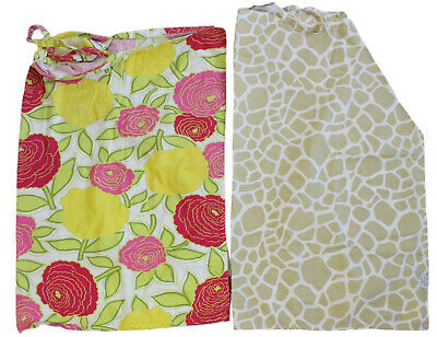 Child of Mine by Carter's and Hooter Hider Nursing Covers Floral/Giraffe