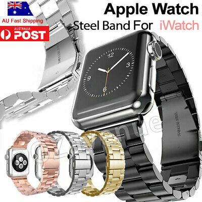 Stainless Steel Link Bracelet Strap Watch Band for Apple Watch iWatch 42mm/38mm