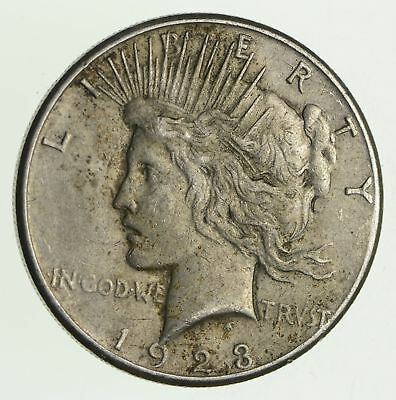 Early - 1923-S - Peace Silver Dollar - 90% US Coin *904