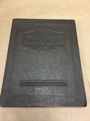 1939 Burroughs Calculator Manual of Instruction Adding Machine Manual Vintage VG