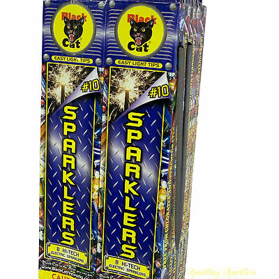 "96 10"" Sparklers for Weddings Birthday Party Fun July 4th Memorial Day"