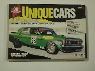 Unique Cars The DVD Collection Volume 2 DVD GOOD CONDITION