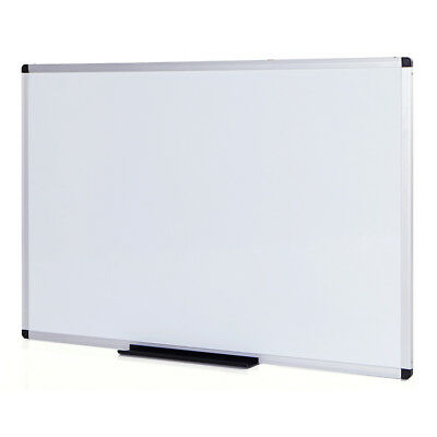 Magnetic Dry Erase Board / Whiteboard, 36 X 24 Inches, Silver Aluminium Frame