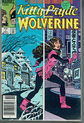 KITTY PRIDE AND WOLVERINE  1-6  VF+/8.5  range. 6-issue collection!