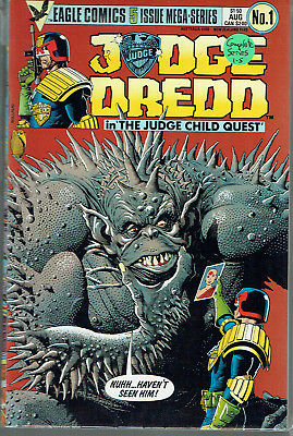 JUDGE DREDD IN THE JUDGE CHILD QUEST  1-5  VF/NM/9.0  range. 5-issue collection!