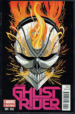 GHOST RIDER  1   NM/9.4  -  1st Robbie Reyes! Rare 1 in 50 variant cover!