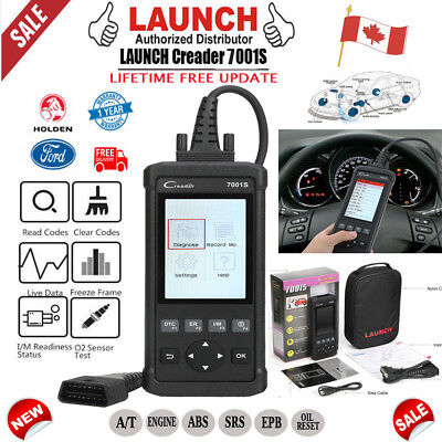 CA Launch CR7001S Engine ABS SRS Code Reset Car Diagnostic Scan Tool OBD2=CRP123