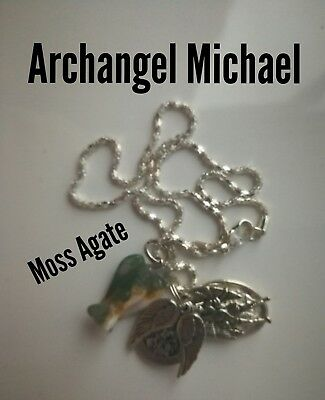 Code 212 Moss Agate Infused Necklace Doreen Virtue Certified Practitioner