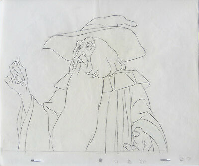 THE LORD OF THE RINGS: ORIGINAL PRODUCTION DRAWINGS w/ Free Autograph