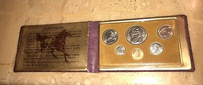 1978 Singapore Mint Year of the Horse 6 Coin Set in Original Vinyl Sleeve