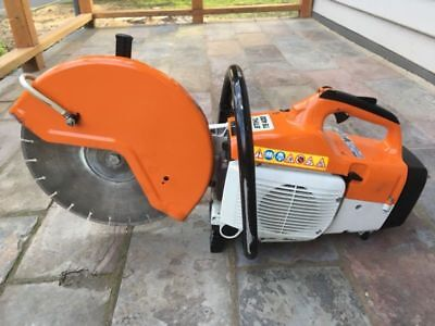 Stihl Ts 400 Demo Saw Cut Off Saw Concrete Saw
