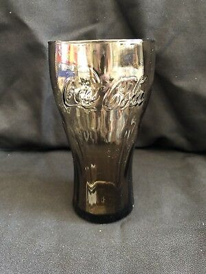 Amber Coca Cola Glass Coke Mint Condition Never Used