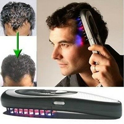 New Electric Laser Comb Hair Growth Loss Regrowth Treatment Infrared Stimulator