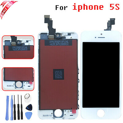 Full For iPhone 6 LCD Display Screen Digitizer AT Home button + Camera  Black UK