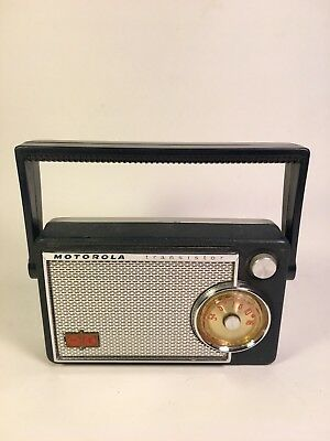 Early MOTOROLA 6X32E Transistor Radio Made In USA - Top Hat Transistors