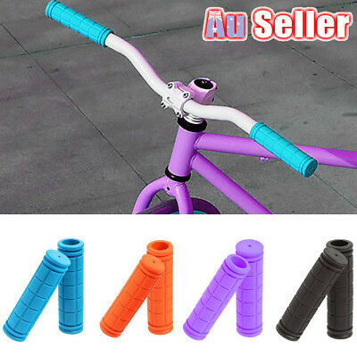 1Pair Soft Durable Rubber Non-slip Mountain Bike Cycling Bicycle Handlebar Grips