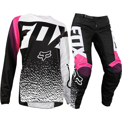 FOX RACING 180 Girls Pink Kids MX Youth Pants With FREE Matching Jersey *SPECIAL
