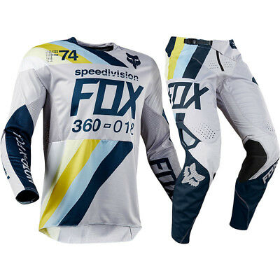 FOX RACING 360 DRAFTR MX Adult Pants With FREE Matching Jersey **SPECIAL*