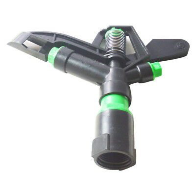 Garden Tripod and ripod Lawn Sprinkler Pulsating Large Grass Watering Metal Head