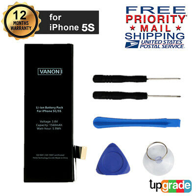 Brand New Original 1560mAh Replacement Li-ion Internal Battery for iphone 5S