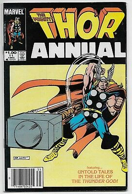 Thor Annual #11 First Eitri Newsstand