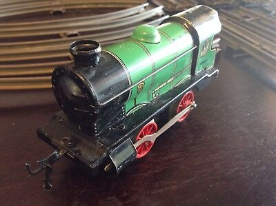 "Vintage Hornby ""O"" Gauge Working Clockwork Type M1 Engine & Track"