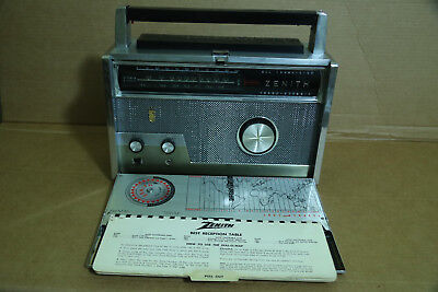 vintage ZENITH Royal-1000 Trans-Oceanic shortwave RADIO World-Band RECEIVER