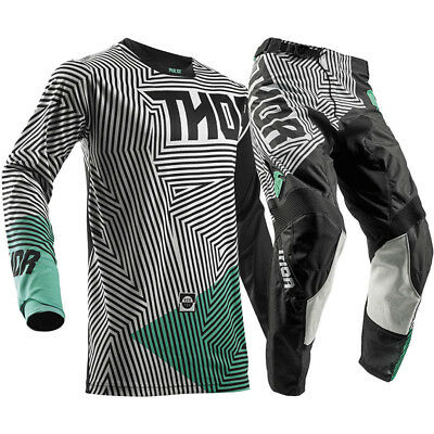 THOR Pulse GeoTec MX Adult Pants With FREE Matching Jersey **SPECIAL*