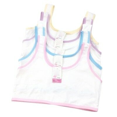 Girls Cotton Bra Breathable Young Girls Underwear Sport Training Puberty Bras