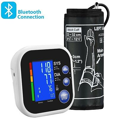 Blood Pressure Monitor Bluetooth Automatic Upper Arm for Home Use 22cm-32cm