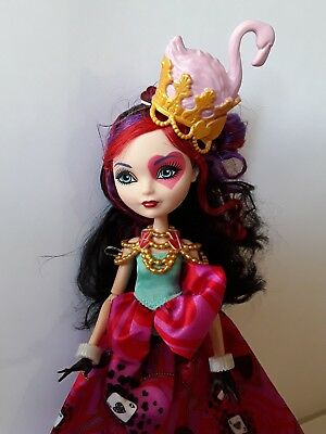 Lizzie Heart Way Too Wonderland Ever After High Doll Excellent used cond
