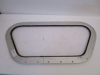 LARGE - VINTAGE Marine PORT HOLE / Window -  100% ORIGINAL - EXCELLENT (11)