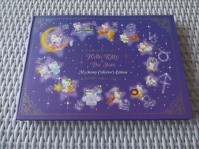 Singapore - Hello Kitty & The Stars, Stamp Collectors Ed. -mint zodiac stamps -