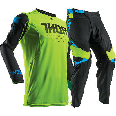THOR PRIME FIT Green MX Adult Pants With FREE Matching Jersey **SPECIAL*