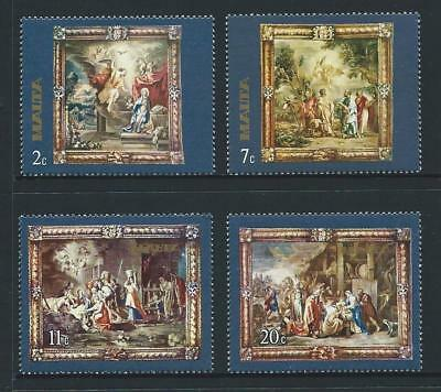 1977 MALTA Tapestry Set MNH (Scott 522-525)
