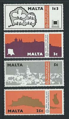 1975 MALTA European Architectural Heritage Year Set MNH (Scott 497-500)