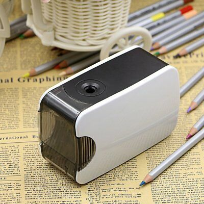 Electric Touch Switch Pencil Sharpener School Home Office Desktop stationery