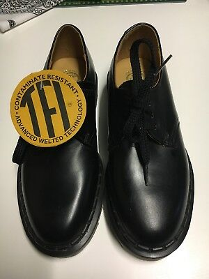New Tredair Leather Shoes Made In England Nurse Work Industrial Chemist Cleaner