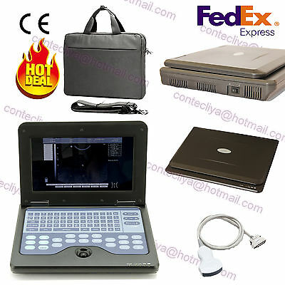 FDA&CE CONTEC CMS600P2 Portable Ultrasound Scanner Digital Laptop Machine,Convex